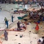 Обрушение крана около мечети Аль-Харам в Мекке