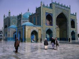 Голубая мечеть в Мазари-Шариф (Афганистан)